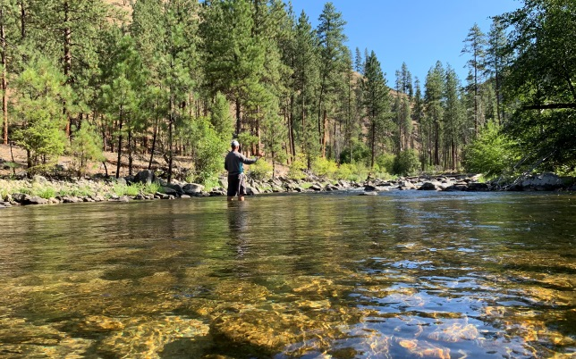 idaho fly fishing lodge vacation packages
