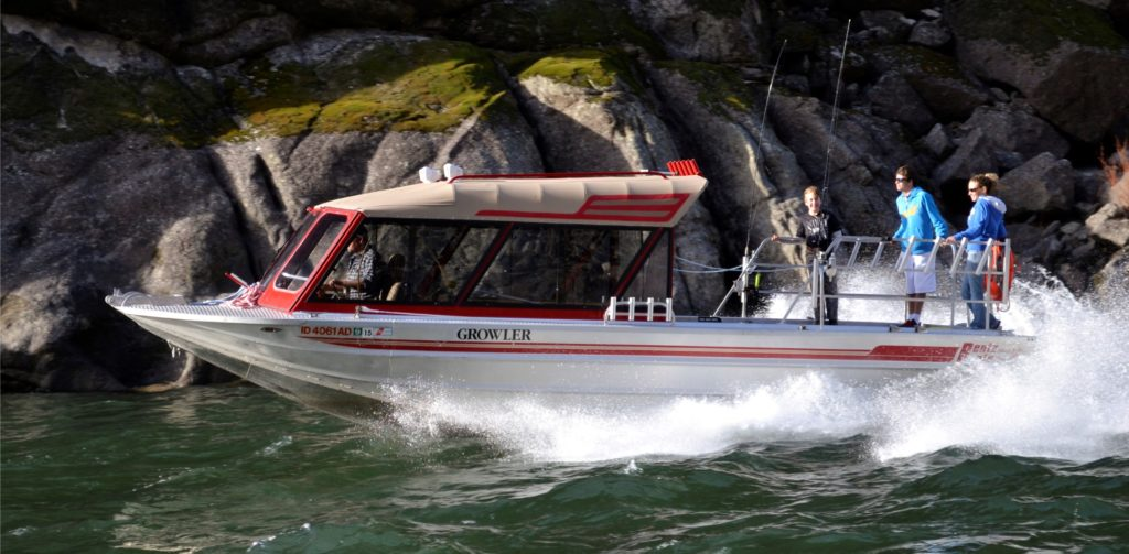 jet boat tours in the idaho wilderness