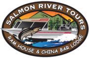 china bar lodge salmon river tours logo