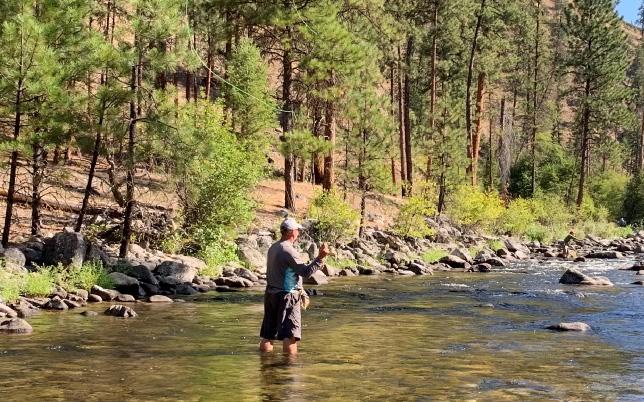 Idaho Cutthroat Fly Fishing Trip on the Salmon River Lodge